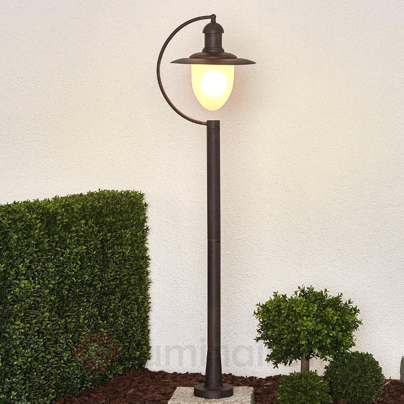 Borne lumineuse antique COTTAGE - Toutes les bornes lumineuses