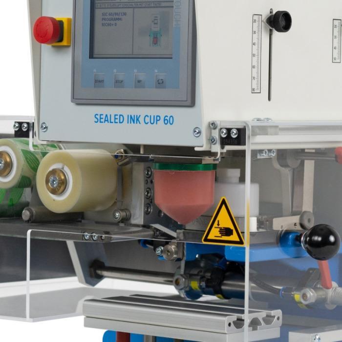 SEALED INK CUP Serie de máquinas de tampografía - Serie de máquinas de tampografía para imágenes impresas en monocromo.