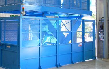 Loading lift platforms - LAWECO loading lift platform