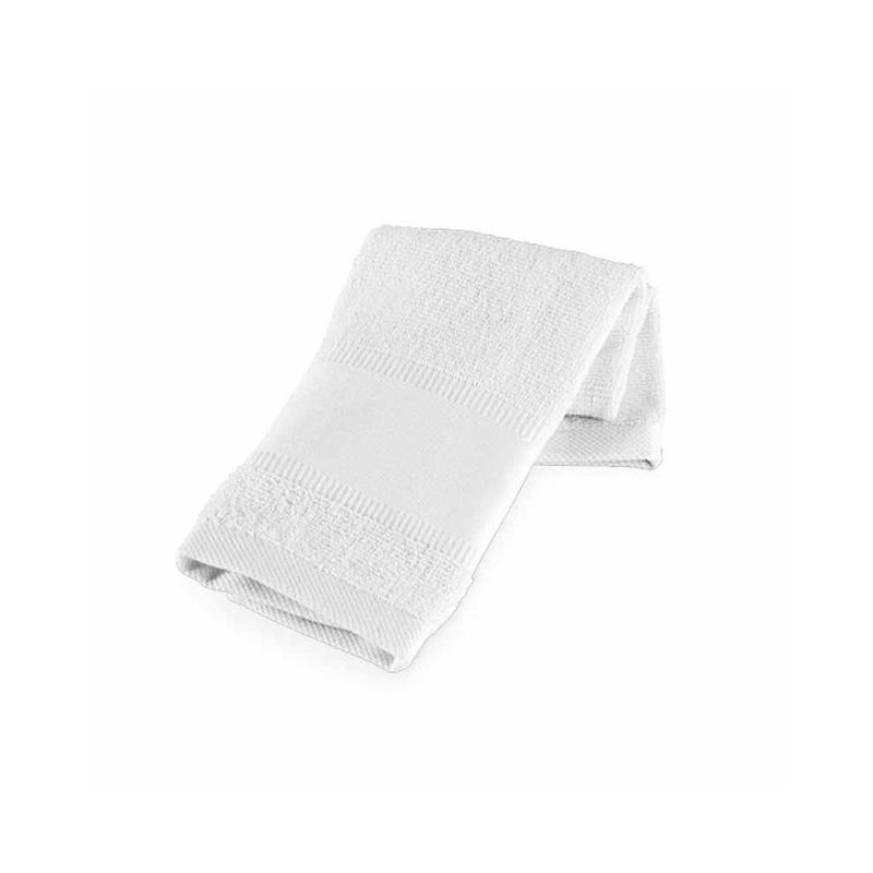 Serviette de sport coton blanc - Serviettes éponge