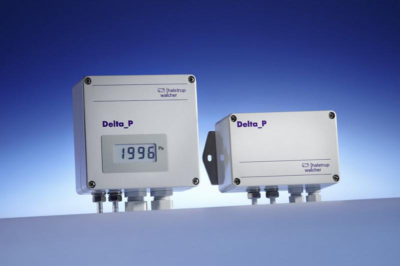 Transducteur de pression différentielle PU/PI/PIZ - Conçu pour l'utilisation dans des systèmes de ventilation et de climatisation