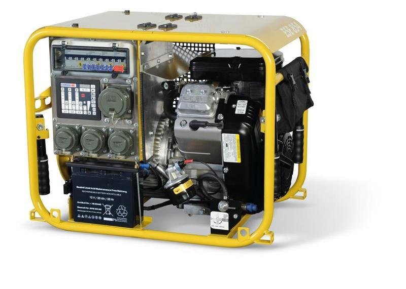 Generators for Fire & Rescue - ESE 954 DBG ES DIN
