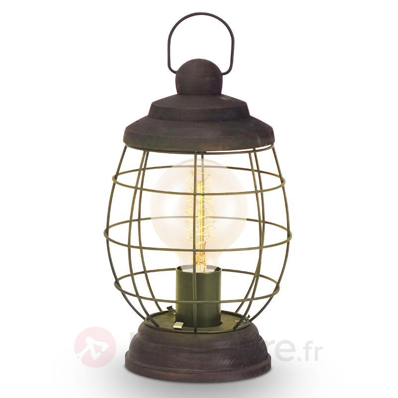 Bampton - lampe de table rustique - Lampes à poser rustiques