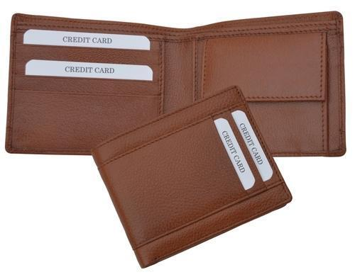 Leather Gents Wallet	 - Wallet