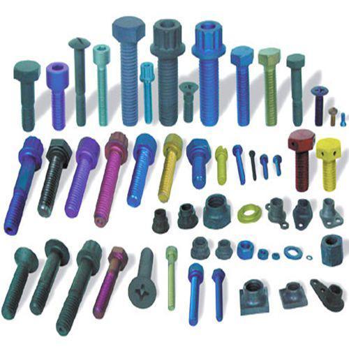 Titanium alloy fastener type