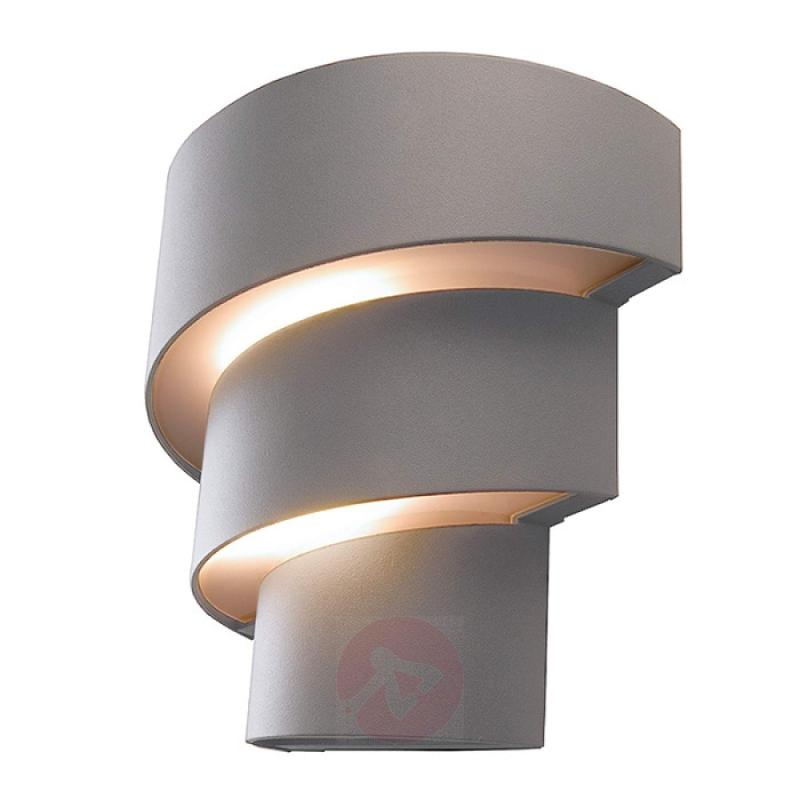 Decorative LED outdoor wall lamp Lute - IP54 - outdoor-led-lights