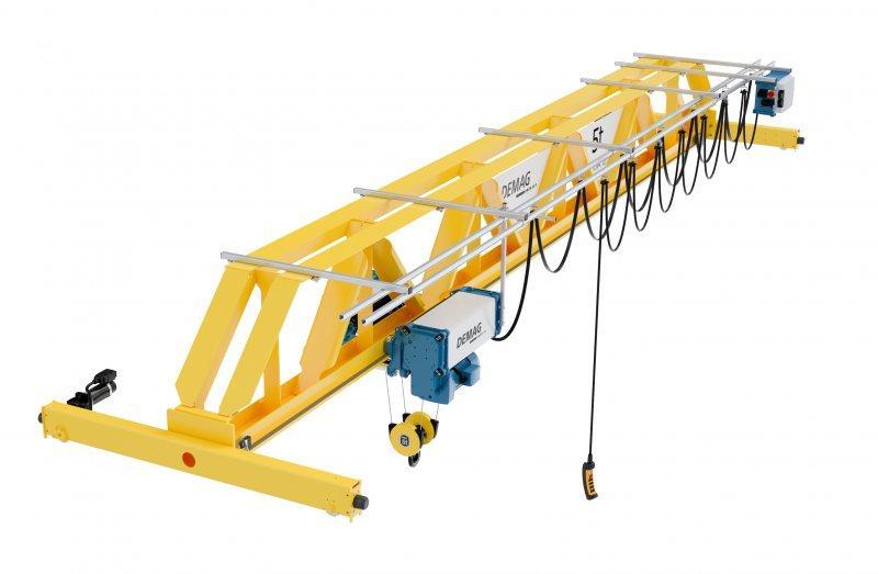 Carroponte Demag V-type - Revolution in crane engineering
