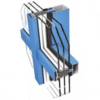 Ponzio PF 152 HI mit Dreifachverglasung - Aluminiumfenster