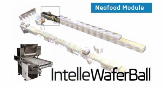 Линия производства вафельных шариков - IntelleWaferBall