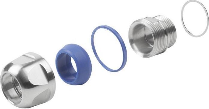 Presse-étoupes en Inox ou plastique Hygienic DESIGN -
