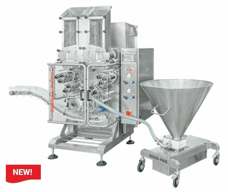 AP740 Automatic filled pasta forming machine  - AUTOMATIC STUFFED PASTA MAKING MACHINES