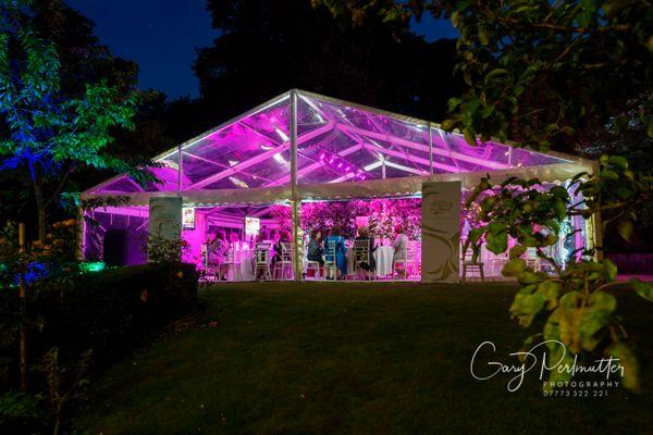 High-Grade Clearspan Marquees 3m – 15m -