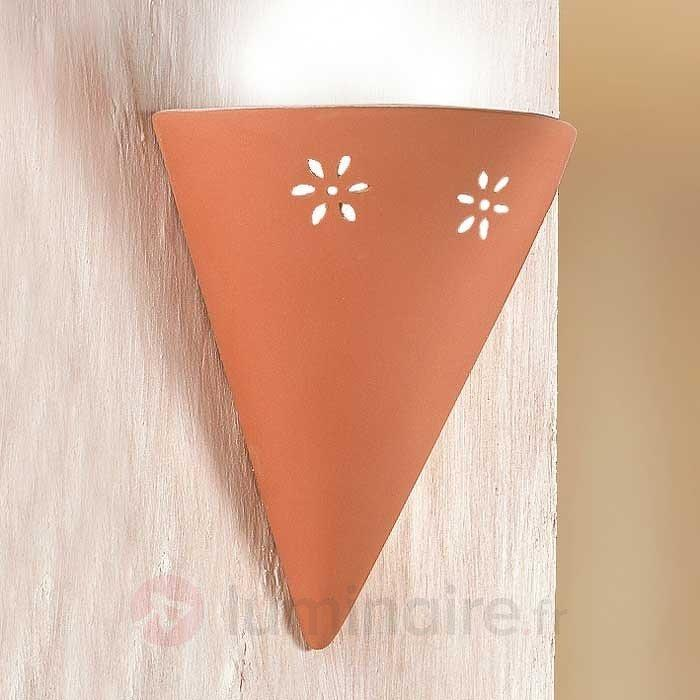 Applique GIULIA en céramique - Appliques à éclairage indirect