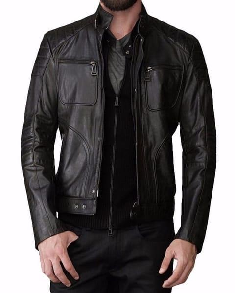 Mens Jackets 2017 New Collection in pure leather