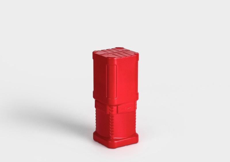 BlockPack - Tube en plastique