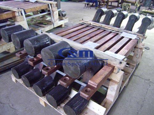 电解铝钢爪 Steel claws, steel yokes for aluminum electrolyzer - electrolysis claw, electrolysis yoke