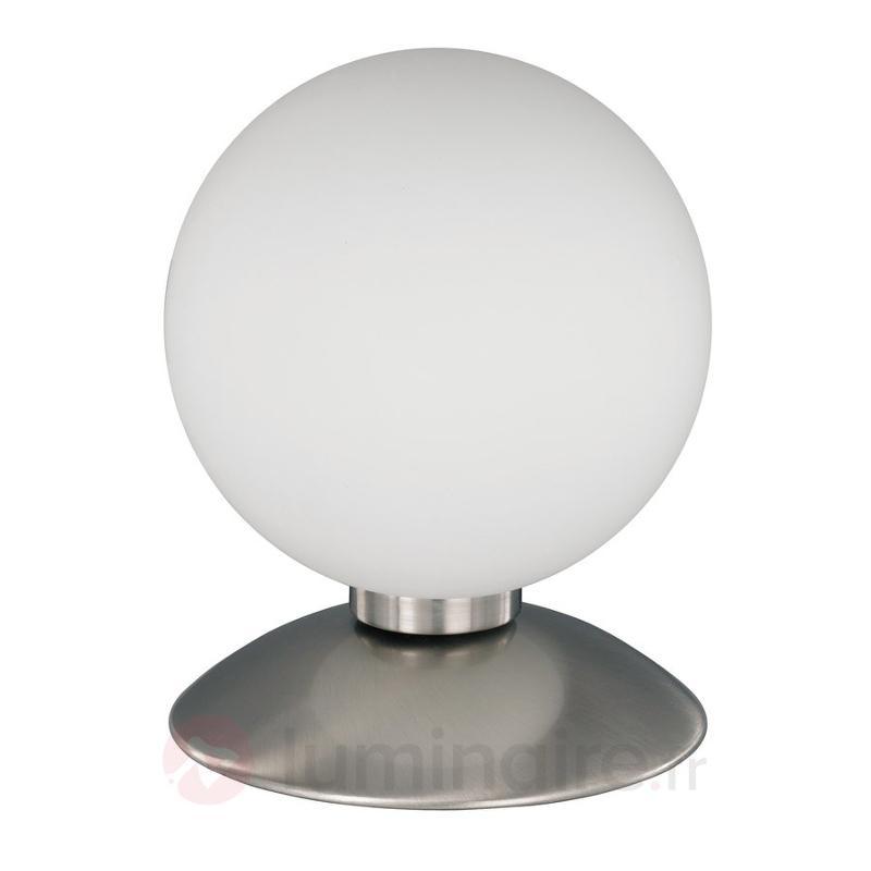 Lampe à poser BUBBA au design sobre, acier - Lampes de chevet