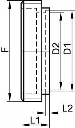 64112 NEZ FILETÉ À SOUDER Inox 316L - Raccords MACON