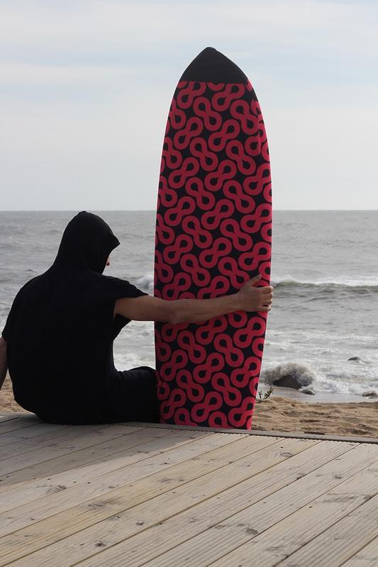 Meia para prancha de surf -