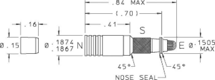 187 Spring Biased Shuttle Valve - null