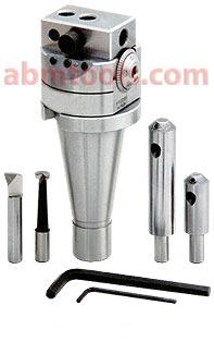 Micro Boring Head - suitable for various diameter and depth of tools.