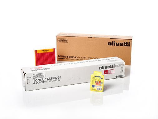 Original Olivetti supplies and spare parts -