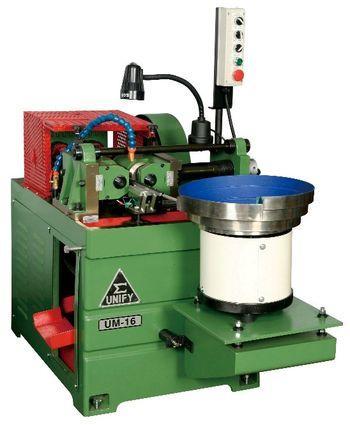 Set Screw Thread Rolling Machine - UM-16 & vibration feeding system