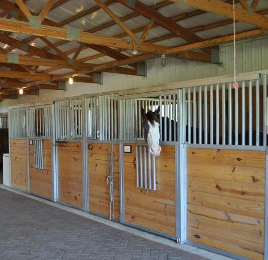 Powder Coated Horse Stall/Stable - European Internal Portable Horse Stall Panels