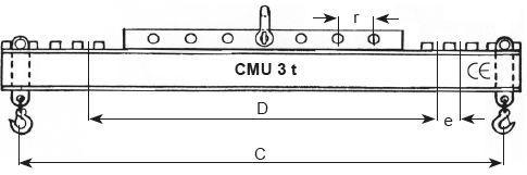 Palonniers réglables - Palonnier réglable type RGS