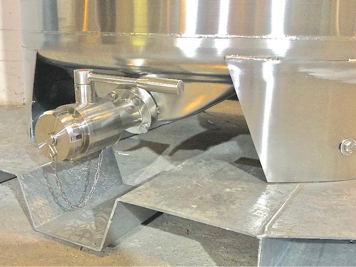 Serbatoio in acciaio inossidabile 316 - 6,45 HL - Modello SBPM750