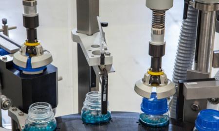 Closing Machine OPTIMA CM1 - Closing Machine for liquid products (Cosmetics, Food, Chemicals)/ OPTIMA CM1