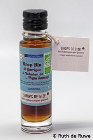 Sirop Bio de Garrigue à l'Infusion de Thym Sauvage 10cl - null