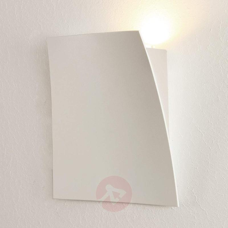 Matt white LED wall light Gap - Wall Lights