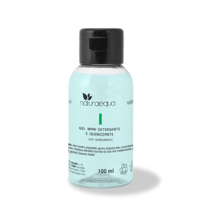 Gel Igienizzante Mani-100ml - Gel detergente e igienizzante mani con antibatterici