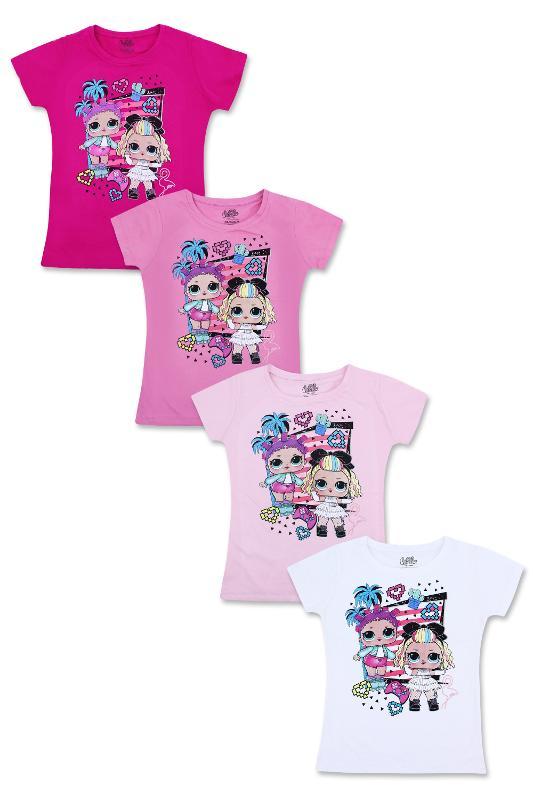 Vente en gros de T-shirt manches courtes LOL du 6 au 12 ans - T-shirt et Polo manches courtes