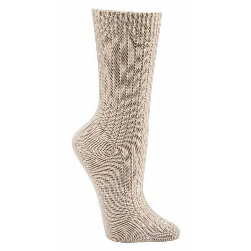 2156 - 100% GOTS Oganic Cotton Socks - Wellness Socks with super wide cuff!