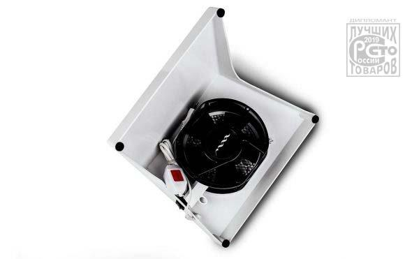 MAX ULTIMATE 6 SUPER POWERFUL DESKTOP NAIL DUST COLLECTOR - Available colors: white, red and dark grey