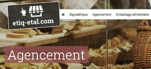 Agencement  - commerces alimentaires