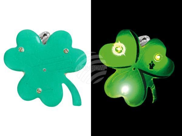 Blinki Blinker grün Motiv: Kleeblatt - null