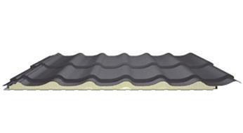 Roof panels and insulated roof sheets - Roof panels in tile profile
