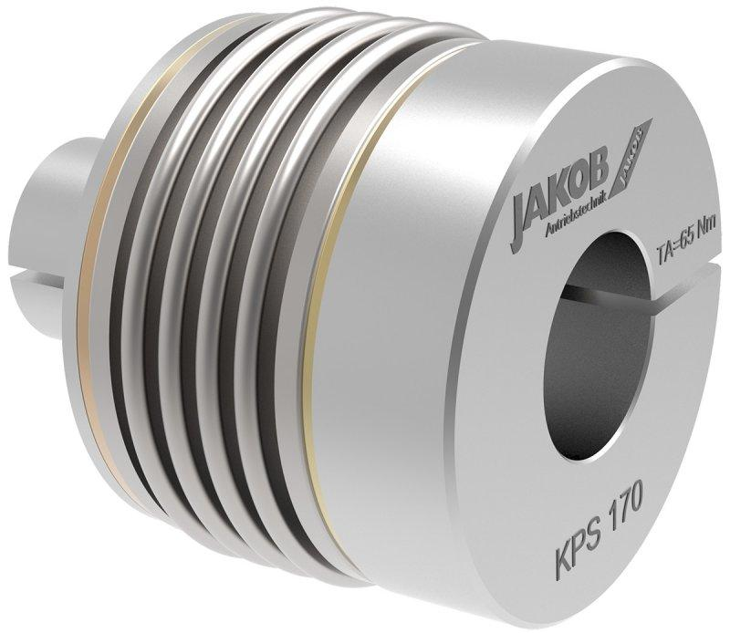 Metal bellows coupling KPS - Metal bellows coupling KPS for direct mounting in a hollow shaft