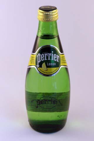 Perrier Lemon 330ml Glass Bottle x24 -