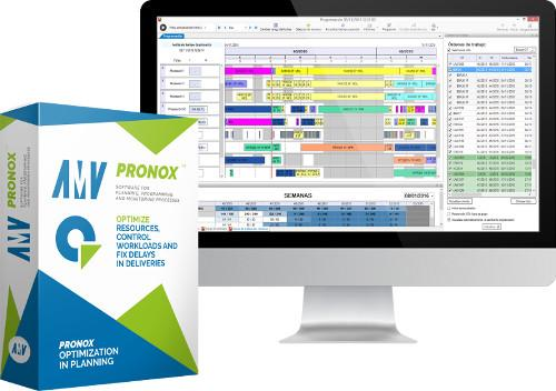 AMV PRONOX - Planificación automática de producción.