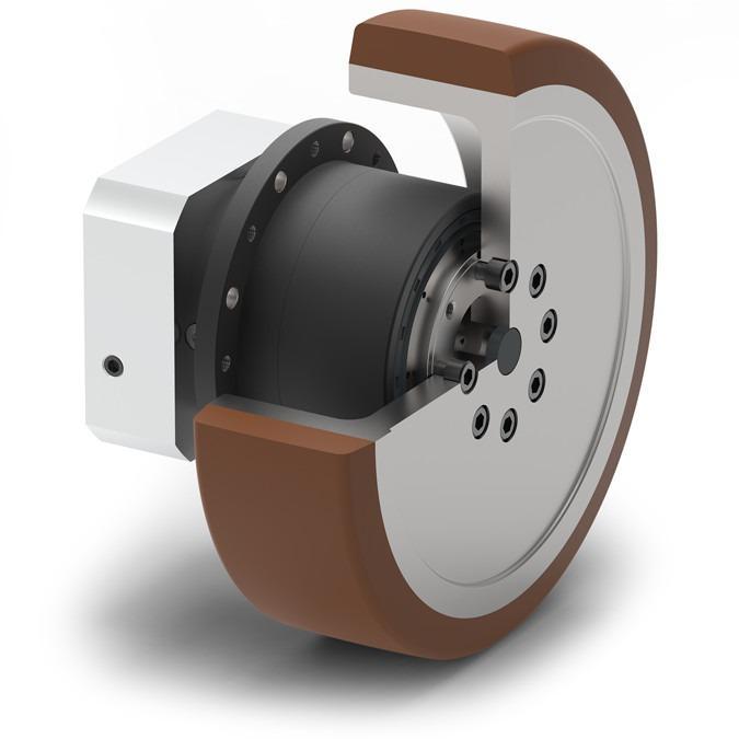 NGV - Redutor planetário para AGVs industriais