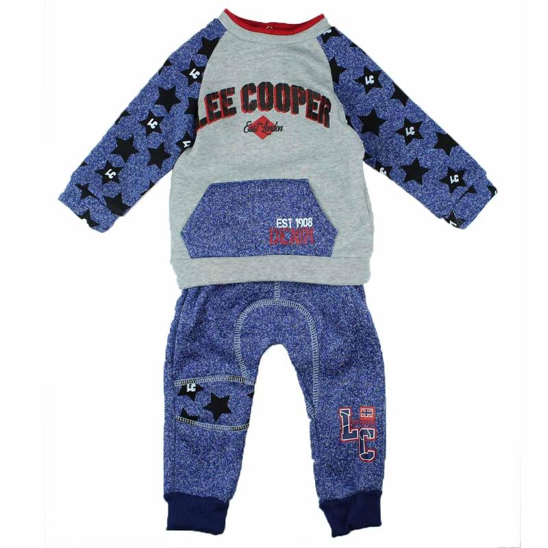 Grossiste sous licence de Jogging Lee Cooper du 3 au 24 mois - Survêtement