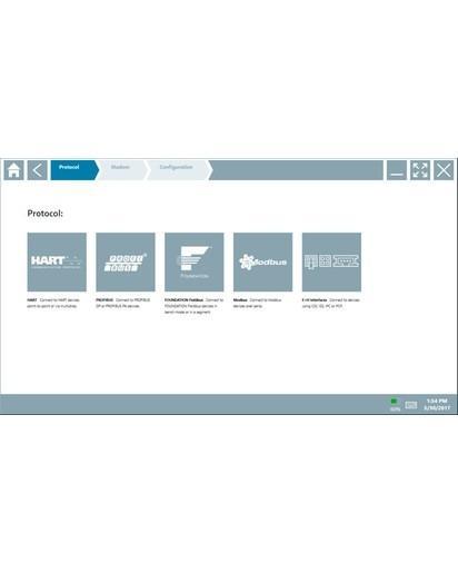 Field Xpert SMT77 - Tablette PC hautes performances pour la configuration des appareils en Zone Ex 1
