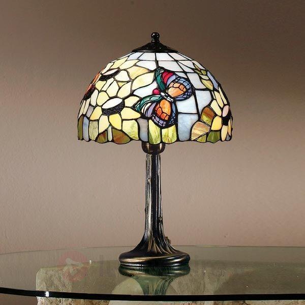 Magnifique lampe à poser VIKTORIA de style Tiffany - Lampes à poser style Tiffany