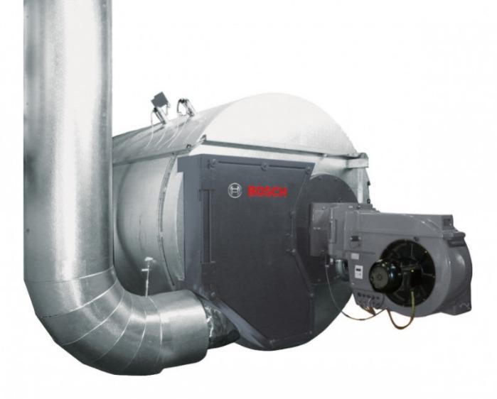 Bosch Caldeira de recuperação com queimador próprio - Bosch Caldeira de recuperação com queimador próprio