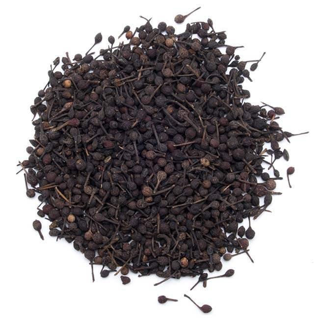 Poivre sauvage noir de Madagascar (Voatsiperifery) - Très aromatique, offrant des saceurs exceptionnelles.