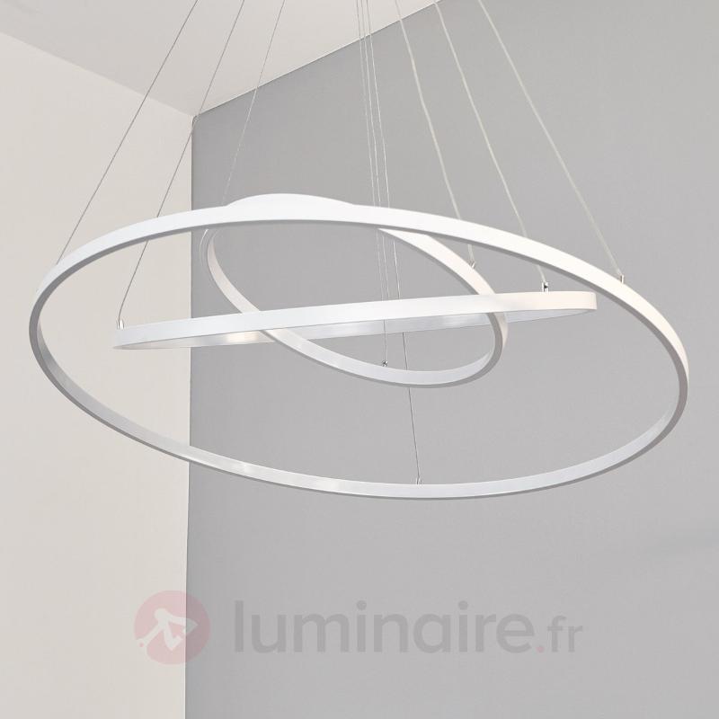 Puissance suspension LED Eline avec 3 anneaux - Suspensions LED
